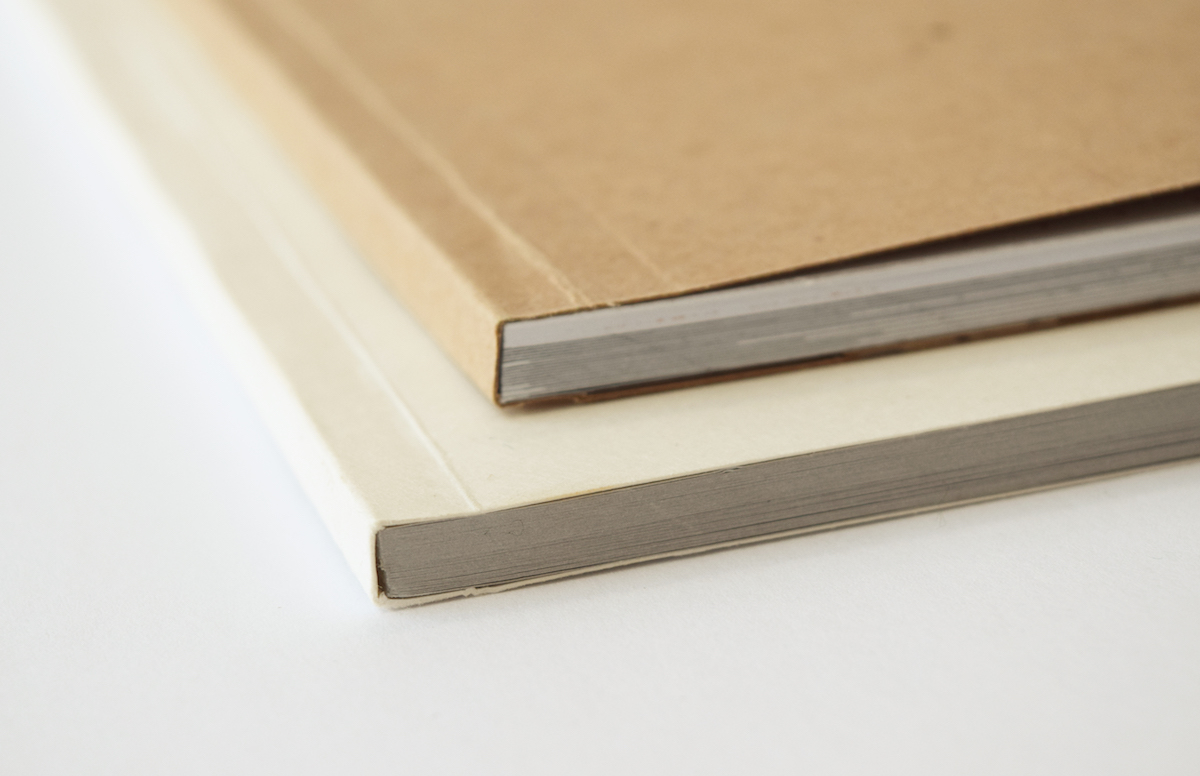 Each Slimbook is hand-bound with an acid free adhesive.